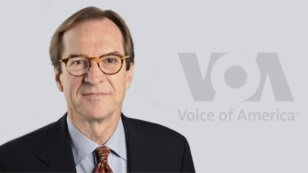 Voice of America Director David Ensor. Critics say that VOA news reporting under him and VOA Executive Editor Steve Redish has declined and nearly collapsed.